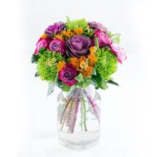 Buy & Send Autumn Brights Hand-tied